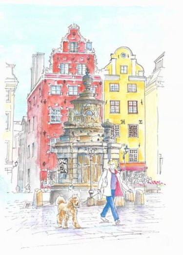 新型コロナ禍でのスウェーデン・ストックホルム市内の映像<判断は見た人にお任せします
